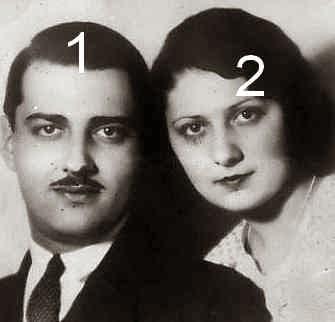 Irakli et Leonida Bagration de Moukhrani - famille royale de Géorgie