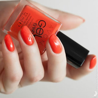 Avon Gel Finish Orange Crush
