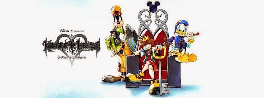 Belle couverture pour journal facebook kingdom hearts