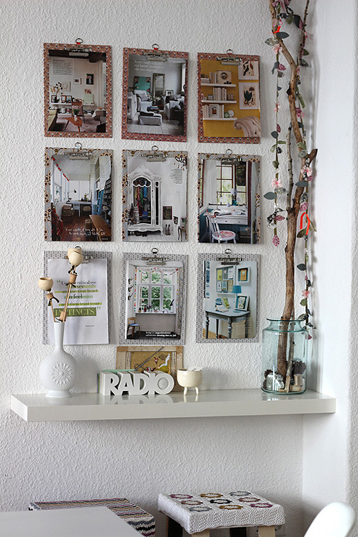 Neo arquitecturaymas decorar paredes con recortes de revistas - Decorar las paredes con fotos ...