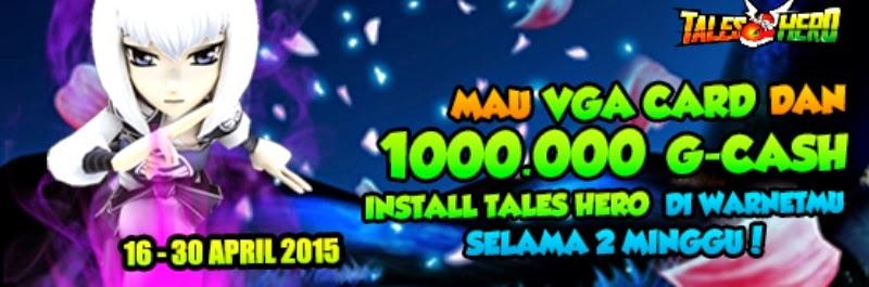 Ayo Ikuti Event Tales Hero+ GWarnet Attack dan Menangkan VGA Sapphire Radeon HD7730 dan 1 Juta G-Cash Gratis