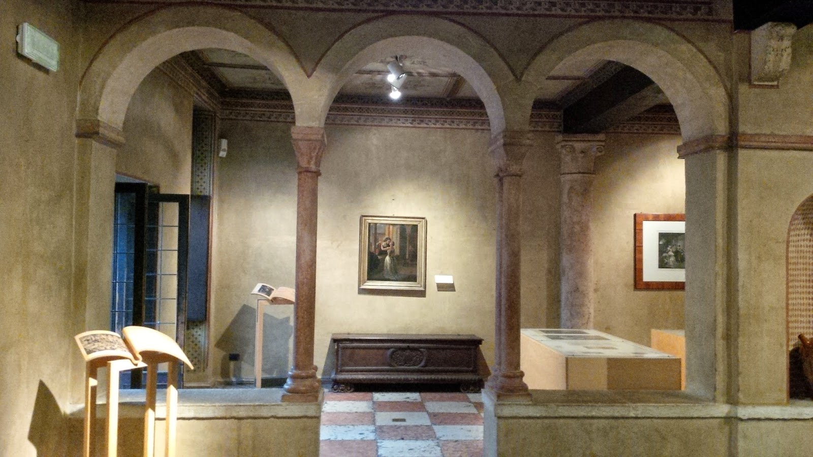 Inside Juliet's House in Verona