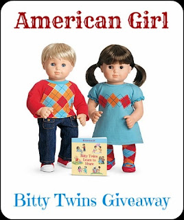 Win a set of Bitty Twins from American Girl