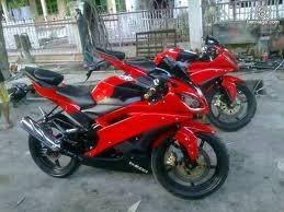 Foto Yamaha Vixion Merah