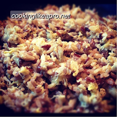 Cooking Crab Fried Rice