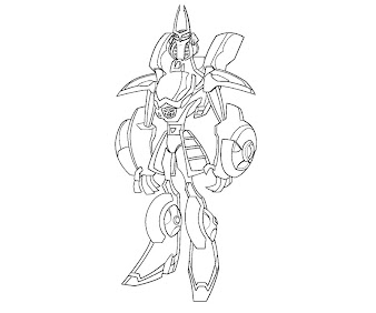 #20 Transformers Coloring Page