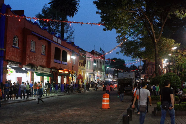 streets coyoacan mexico city