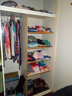 Half of my closet!