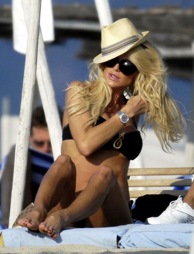 v various Celebrity Spanker Victoria Silvstedt