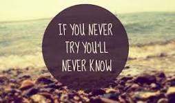 Bisogna provarci, sempre.