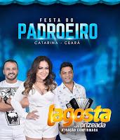 LAGOSTA BRONZEADA NA FESTA DO MUNICÍPIO DE CATARINA - ESPAÇO SHOW