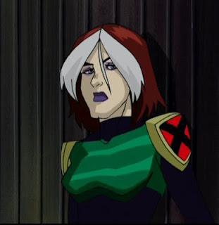 Rogue pouts it up in X-Men: Evolution