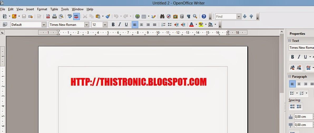 Cara membuat file PDf dengan cepat mudah dan praktis menggunakan OpenOffice Writer