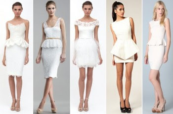 fotos modelos vestidos casamento civil