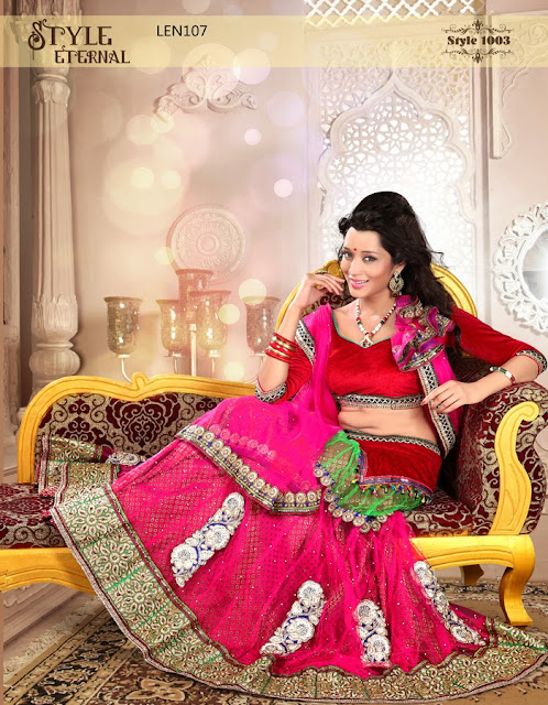 New Designer Wedding Lehenga Choli