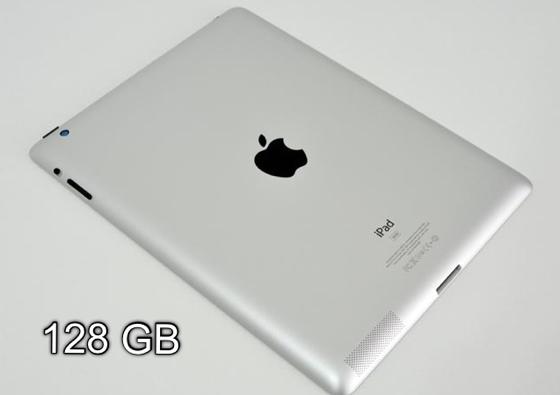 Apple announces iPad with 128GB storage capacity