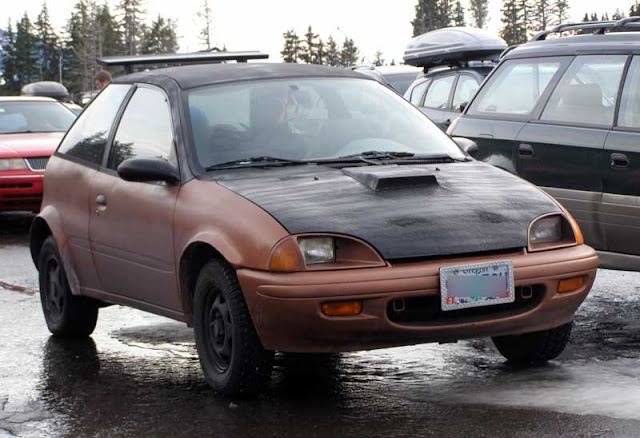 Geo Metro mountain car