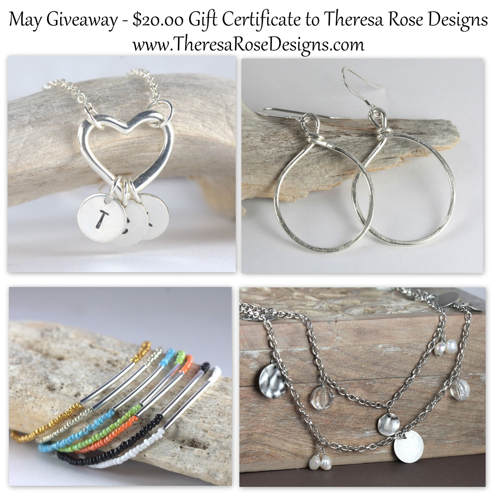 Theresa Rose Designs - May Giveaway