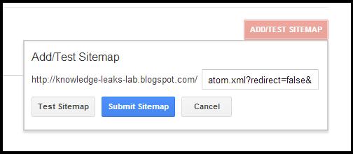 Sitemap Form
