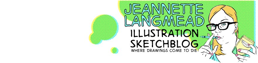 Jeannette's Illustration Sketchblog