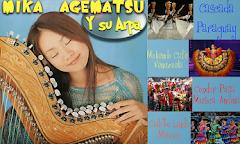 Mika Agematsu y su arpa