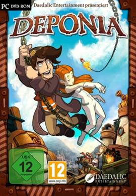 lancamentos games Download - Deponia FullRip - PC (2012)