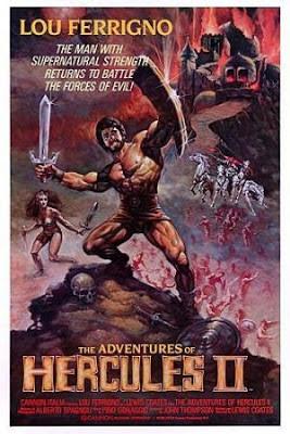 Lou Ferrigno, Hercules, poster