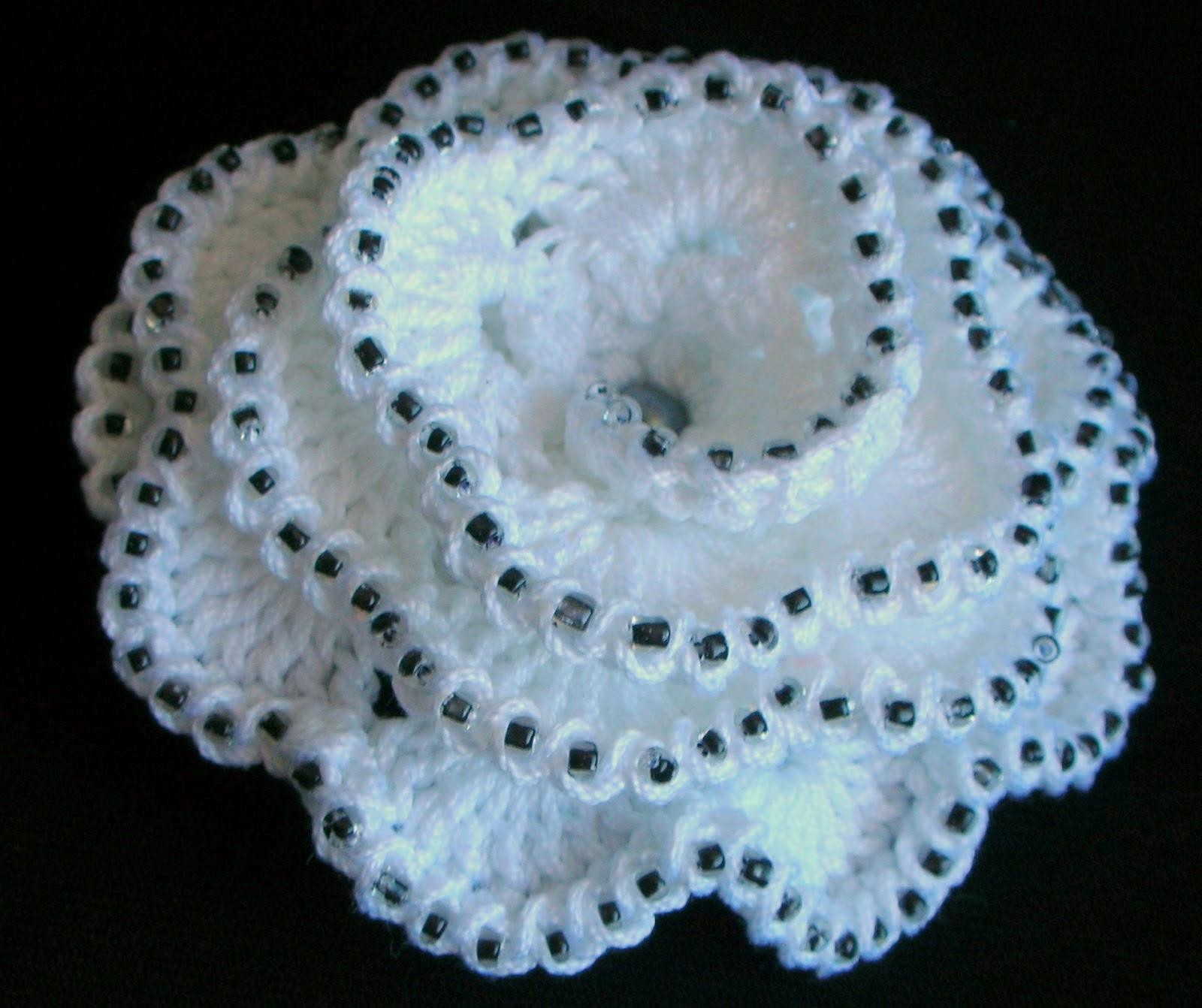 роза схема для вышивки черно белая