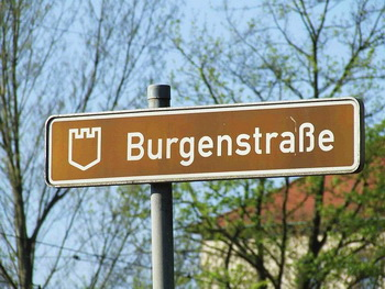 Burgenstraße Castle road germany czech