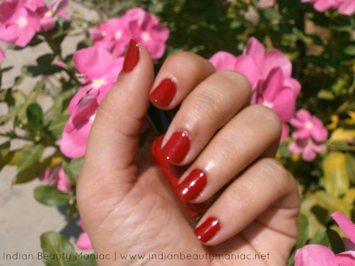 Zoya Professional Nail Lacquer in Kristi on my nails