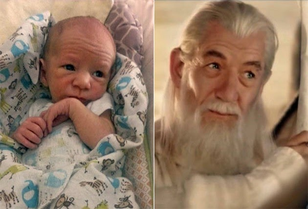 Ian McKellan (as Gandalf)