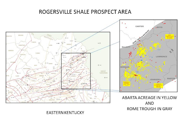 marvelous Rome Trough Part - 7: ... acres leased in eastern Kentucky that may be prospective for the  Rogersville shale. A lot of this acreage is held by production from  shallower zones ...