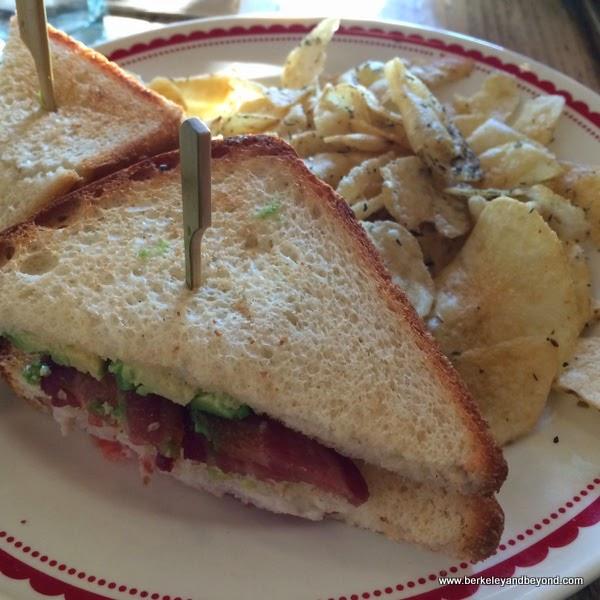 club sandwich at La Boulange in Novato, California
