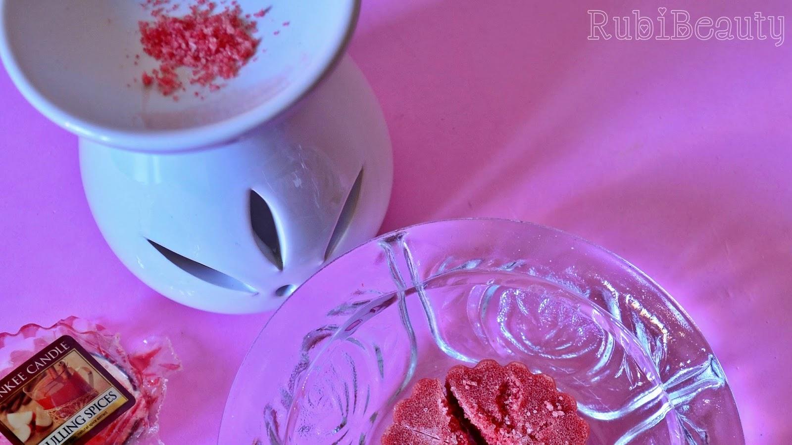 rubibeauty review opinión critica yankee candle tarts velas de olor