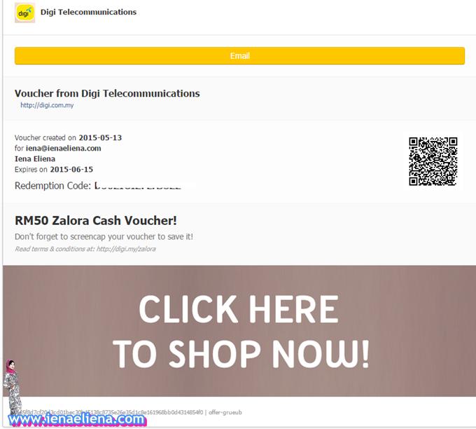 RM50 Zalora Free Voucher
