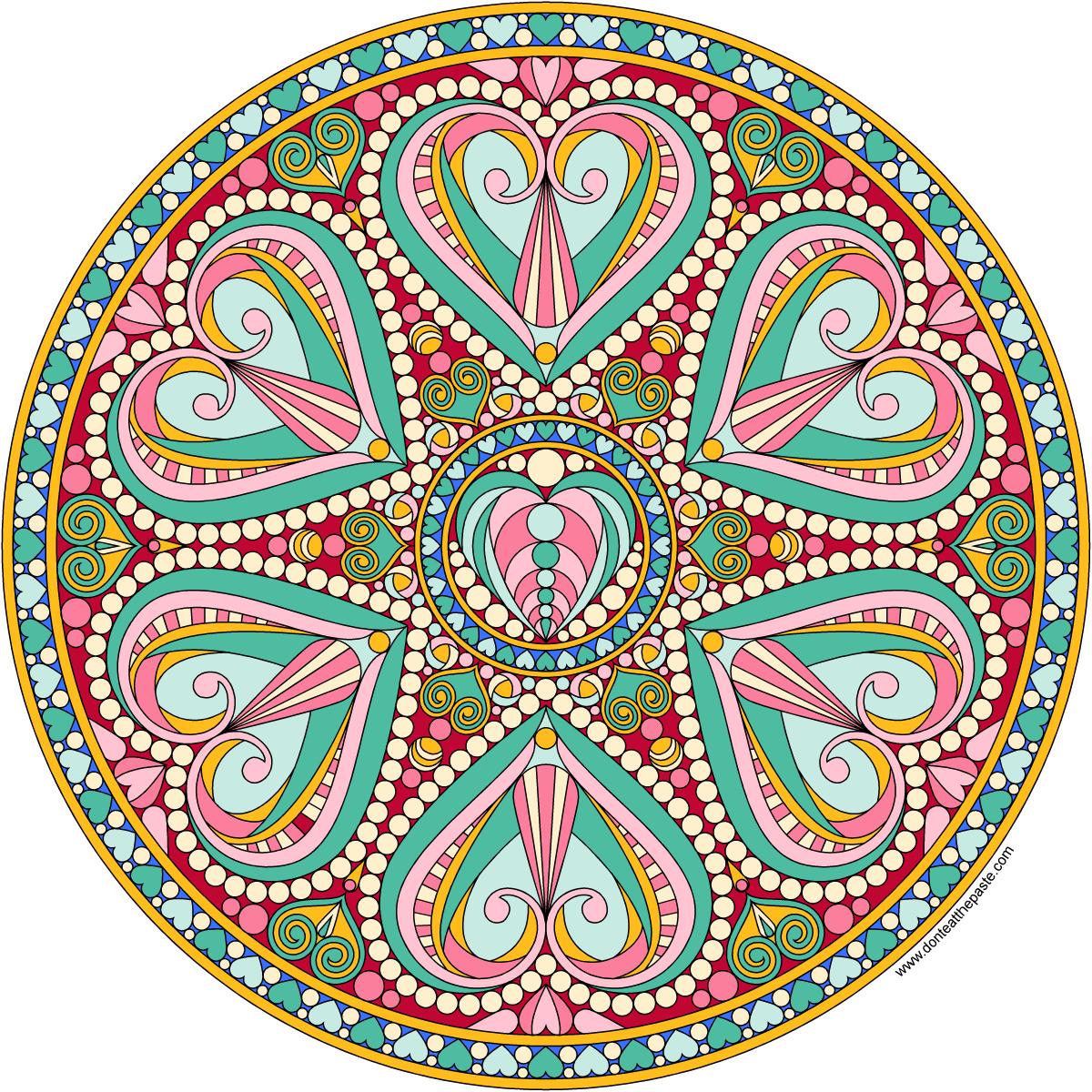 Coloring Mandalas On Pinterest