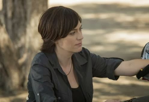 Maggie Siff in Sons of Anarchy season finale