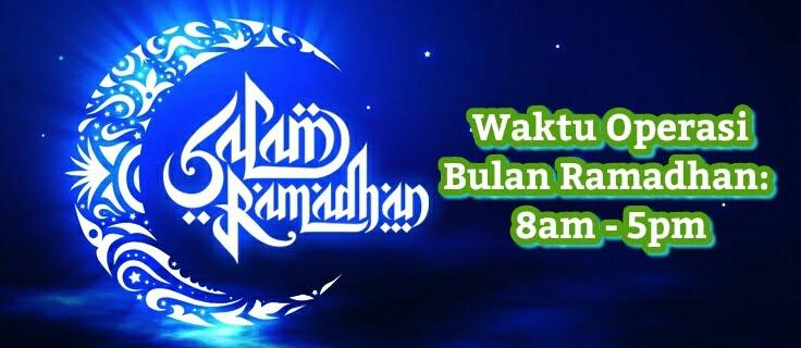Waktu Operasi Bulan Ramadhan