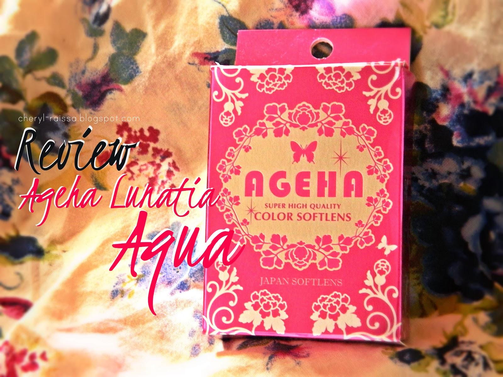 Makeup Tutorial Romantic Look For Day Ageha Lunatia Air Softlens Nice 60 Ml Aqua Video