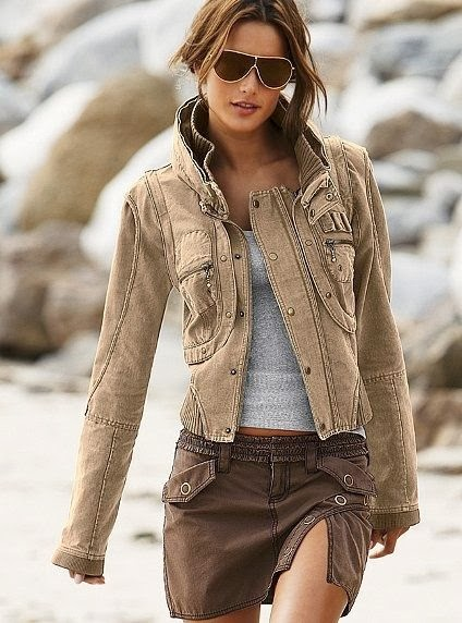 Amazing Rustic Brown Jacket