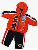 Elmo Jacket, 12M, CLEARANCE RM33