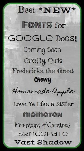 Best essay fonts on google docs