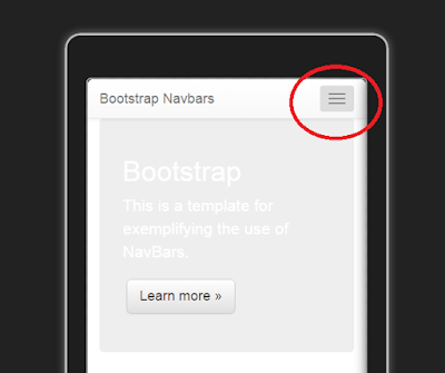 Bootstrap Tutorial Lesson 3 - Navbars with DropDownLists    3