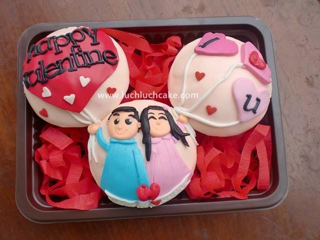 jual Cupcake Valentine 2015 Daerah Surabaya - Sidoarjo