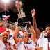 Tricolor comemora o título de campeão baiano 2014