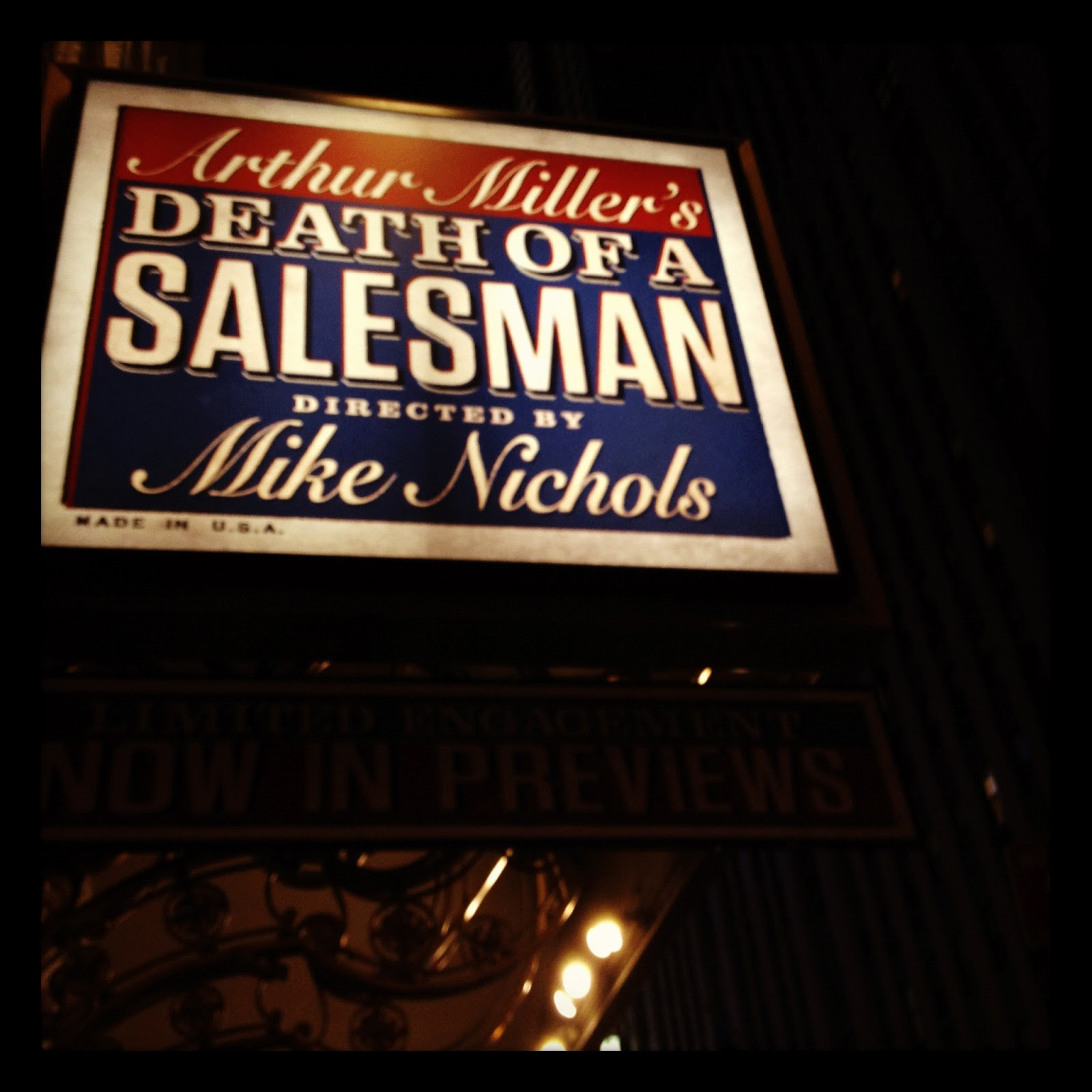 death of a traveling salesman