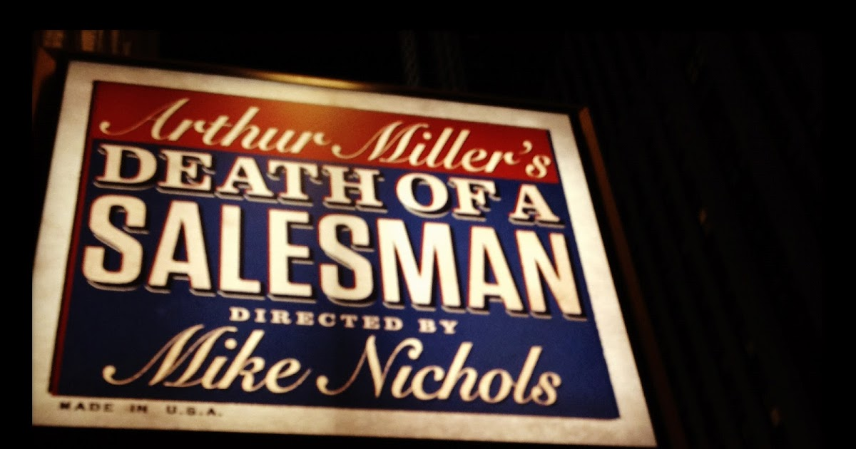 a focus in the life of willy in arthur millers play death of a saleman Arthur miller represents this problem in society within the actions of willy loman in his modern play death of a salesman.