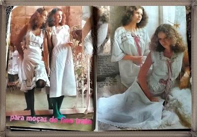 Revista rara de 1970 de moda, crochê e culinária