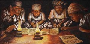 Mengaji dalam Buku Lama