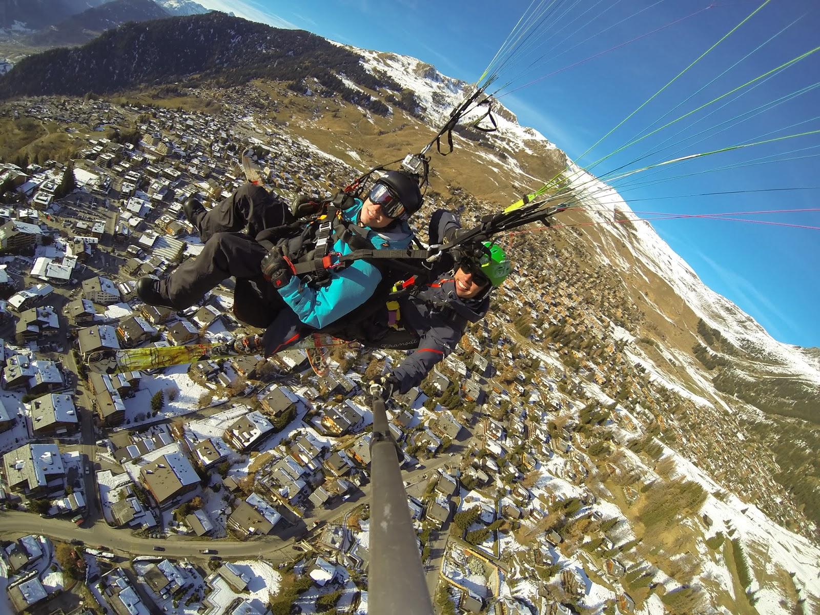 verbier paragliding 3